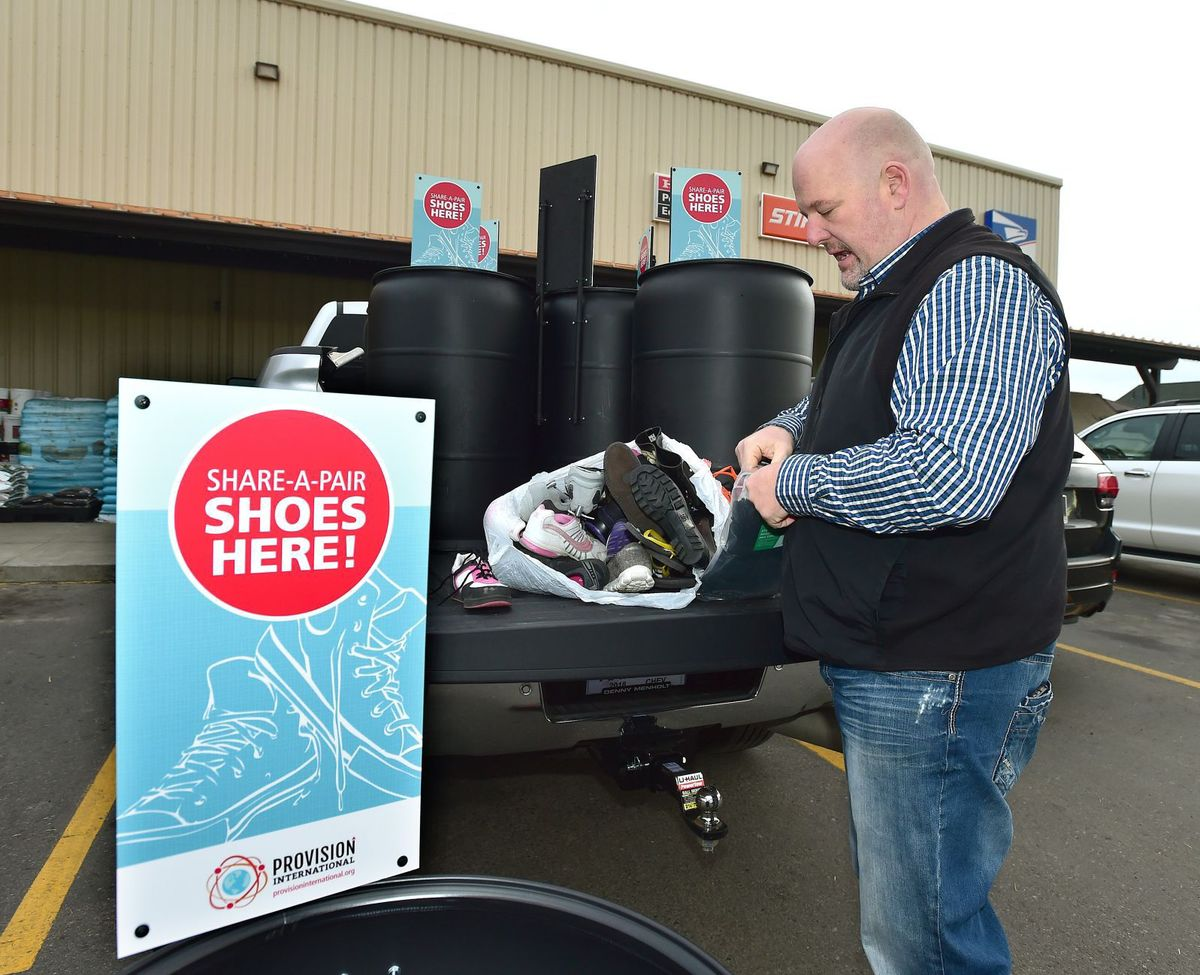 'Share-a-Pair' donation drive sends used shoes abroad